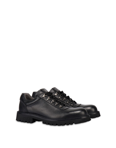 Budapest calf leather shoes BLACK