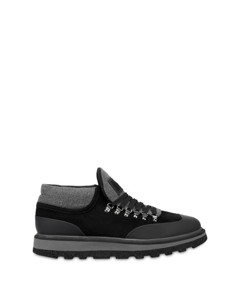 Traveler leather shoes BLACK/BLACK/LONDON SMOKE