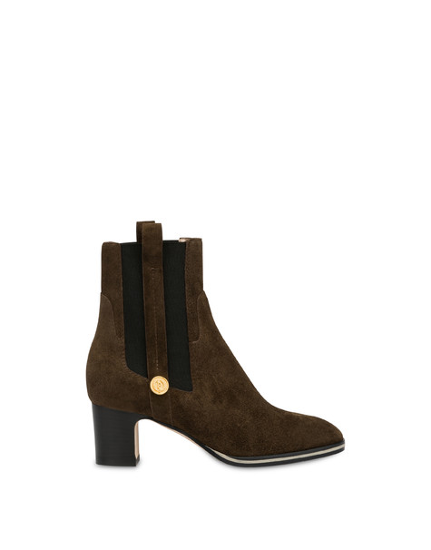 Marne leather ankle boots STONE