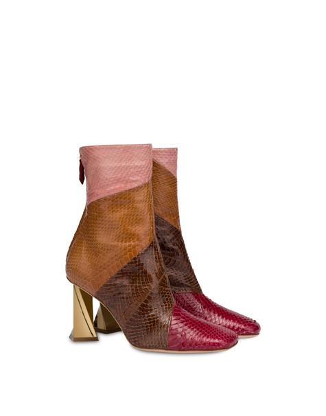 Linz elaphe ankle boots WINE/SACHER/WAFER/OLD ROSE