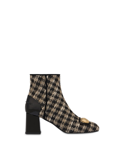 Queen houndstooth boots WAFER/BLACK/BLACK