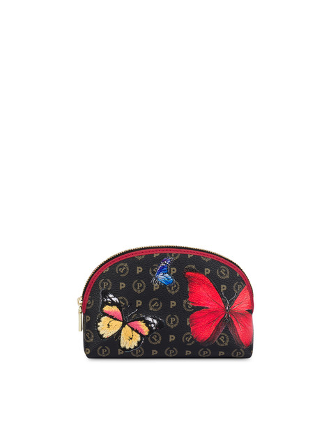 Pouch Heritage Butterfly Collection NERO/ROSSO