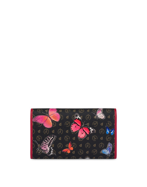 Heritage Butterfly Collection wallet BLACK/RED