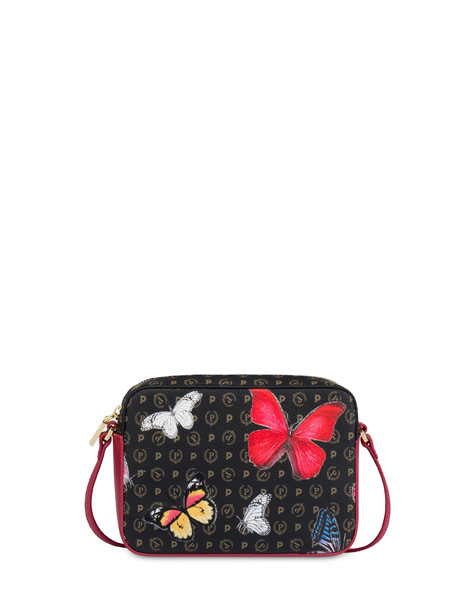 Borsa a tracolla Heritage Butterfly Collection NERO/ROSSO