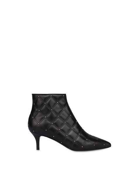 Stars In Prague quilted ankle boots BLACK
