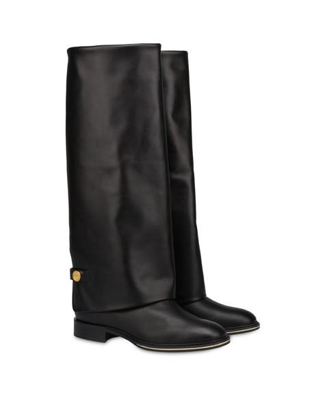 Marne nappa calfskin boot BLACK