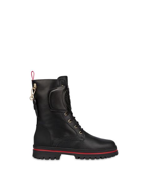 Ice Cracker combat boot with strap BLACK/BLACK/BLACK