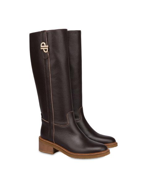 Twin P calfskin boots SACHER