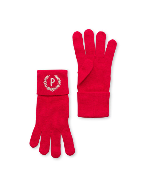 Wool gloves RED