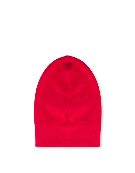 Cappello in lana ROSSO