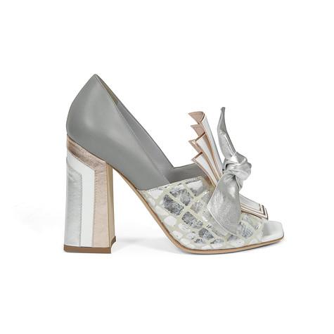 Decolleté Argento/grigio/bianco/rame/argento