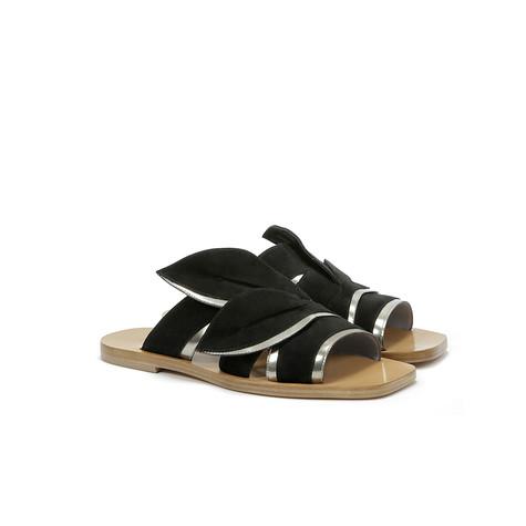 Sandali Nero/acciaio