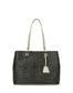 Shopping bag Black/ivory