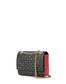 Shoulder bag Black/laky red