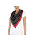 Foulard Black/laky red