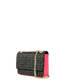 Shoulder bag Black/fuchsia