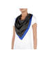 Foulard Black/bright blue