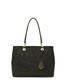 Shopping bag Black/bronze