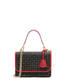 Handbag Black/laky red