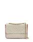 Hobo bag Ivory/laky red