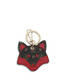 Keyrings Black/laky red