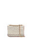 Shoulder bag Ivory/laky red