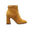 Ankle boots Mustard yellow
