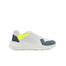Sneakers White/teal/teal/yellow