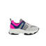 Sneakers Ice/ice/bluette/fuchsia