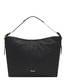 Shopping bag Black print black/black