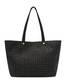 Shopping bag Black/black print black/black