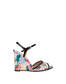 Sandals White/black
