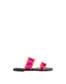 Sandals Fuchsia/orange