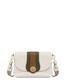 Hobo bag Ivory/military green/hide