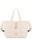 Shopping bag Ivory/sky