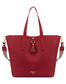 Shopping bag Red/coral