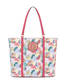 Shopping bag Multicolour/coral