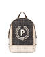 Backpack Ivory/black/bronze