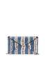 Clutch bag Blue-copper-cream