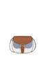 Shoulder bag Hide/sky blue/plaster
