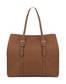 Hobo bag Leather brown