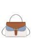 Handbag Hide/sky blue/plaster