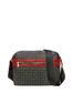 Messenger bag Black/laky red