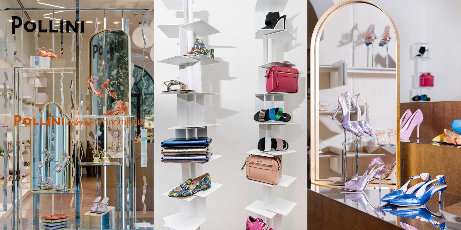 a51590c9b2 Pollini partecipa alla Milano Design Week 2019 ospitando negli spazi del  negozio di via della Spiga una selezione di proposte di arredo di  minottiitalia, ...